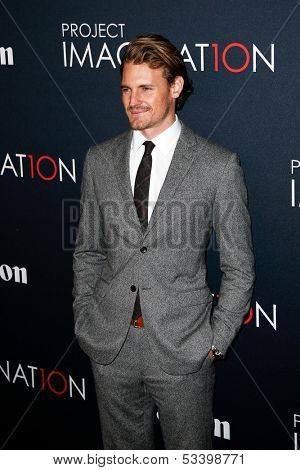 NEW YORK- OCT 24: Actor Josh Pence attends the premiere of Canon's 'Project Imaginat10n' Film Festival at Alice Tully Hall at Lincoln Center on October 24, 2013 in New York City.