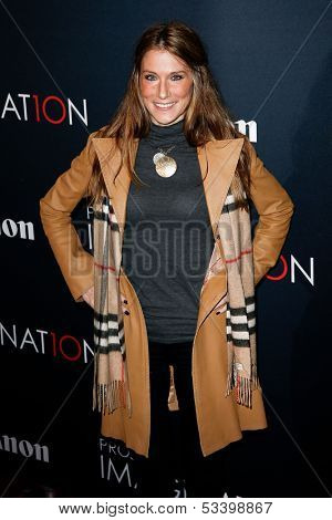 NEW YORK- OCT 24: Actress Samantha Nagel attends the premiere of Canon's 'Project Imaginat10n' Film Festival at Alice Tully Hall at Lincoln Center on October 24, 2013 in New York City.