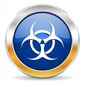 picture of biohazard symbol  - biohazard icon - JPG
