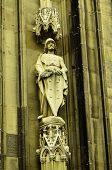 Saint at Cologne Cathedral