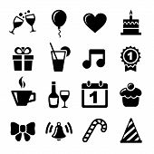 picture of trumpet  - Party and Celebration icon collection  - JPG