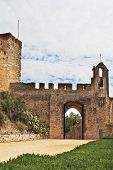 image of templar  - The entrance to the fortress of the Knights Templar - JPG