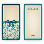 pic of brocade  - Elegant template luxury invitation - JPG