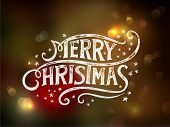 picture of letter  - Christmas typography - JPG