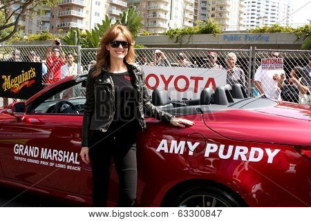LOS ANGELES - APR 12:  Amy Purdy at the Long Beach Grand Prix Pro/Celeb Race Day at the Long Beach Grand Prix Race Circuit on April 12, 2014 in Long Beach, CA