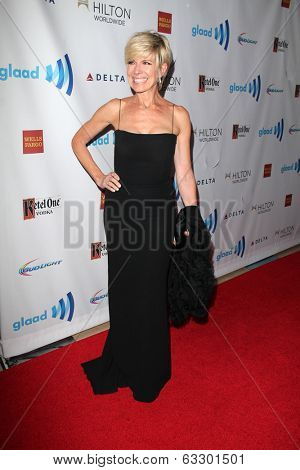 LOS ANGELES - APR 12:  Debby Boone at the GLAAD Media Awards at Beverly Hilton Hotel on April 12, 2014 in Beverly Hills, CA