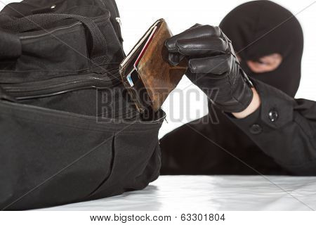 Thief Stealing A Wallet