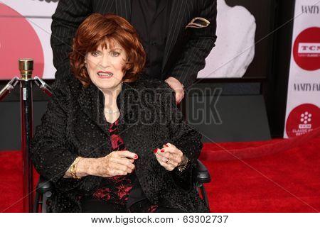 LOS ANGELES - APR 10:  Maureen O'Hara at the