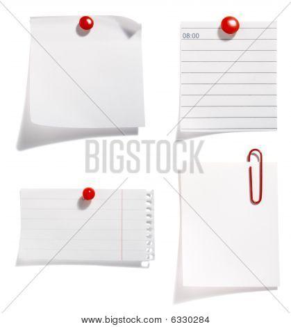 Papier mit red clip