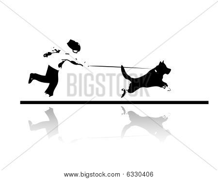 Run with my dog