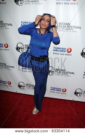LOS ANGELES - APR 8:  Alexis Arquette at the Indian Film Festival Premiere of