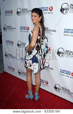 LOS ANGELES - APR 8:  Pooja Batra at the Indian Film Festival Premiere of