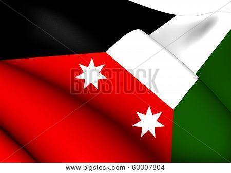 Flag Of Iraq (1924-1959)