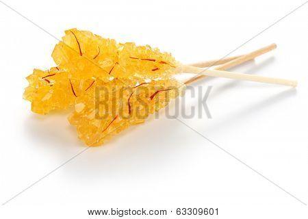 nabat, iranian saffron rock candy