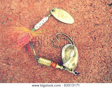 Fishing Tackle Alphabet Letter G