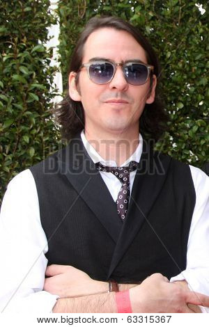 LOS ANGELES - APR 13:  Dhani Harrison, guest at the John Varvatos 11th Annual Stuart House Benefit at  John Varvatos Boutique on April 13, 2014 in West Hollywood, CA