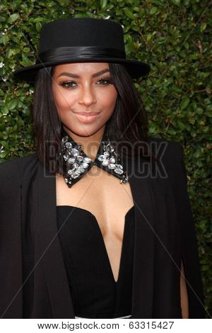 LOS ANGELES - APR 13:  Kat Graham at the John Varvatos 11th Annual Stuart House Benefit at  John Varvatos Boutique on April 13, 2014 in West Hollywood, CA