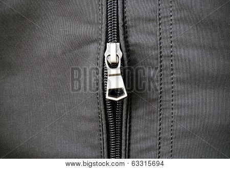 Zip On Leather Jacket
