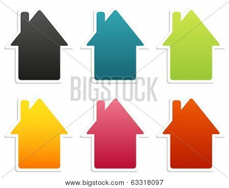 House Stickers Collection
