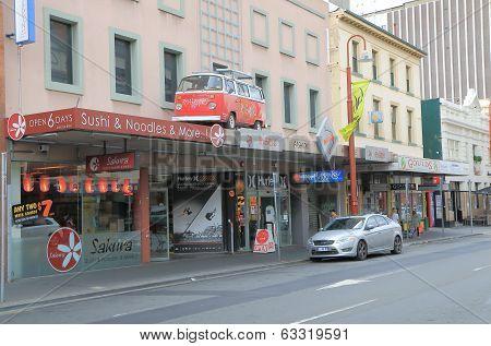 Funky surf shop Hobart