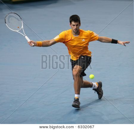 Novak Djokovic (srb) At Bnp Masters 2009