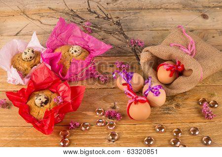 Eggs And Mona De Pascua