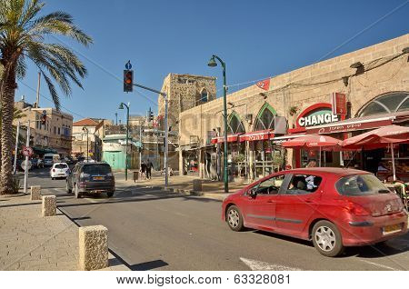 Steet In The Old City Of Jaffa