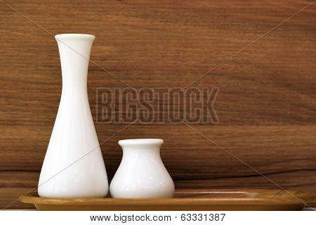 White Vases