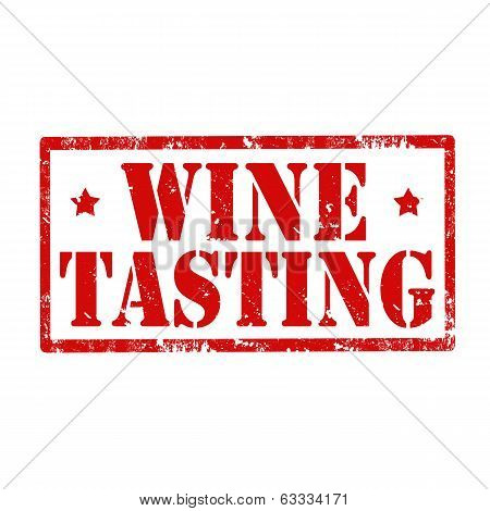 Wine Tasting-stamp