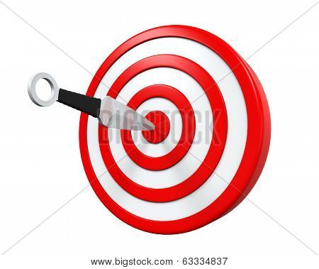 Throwing Knife and Target