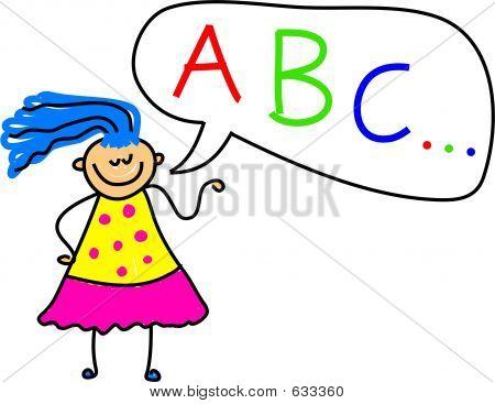 Alfabeto chica 2