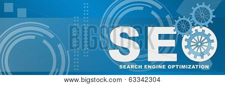 SEO Business Style Background Banner