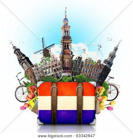Holland, Amsterdam landmarks, travel