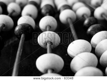 Black And White Abacus