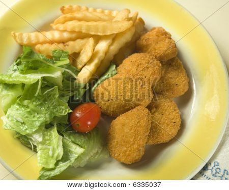 Fast Food Meal At Home