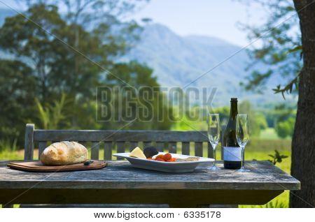 Alfresco Wine And Cheese