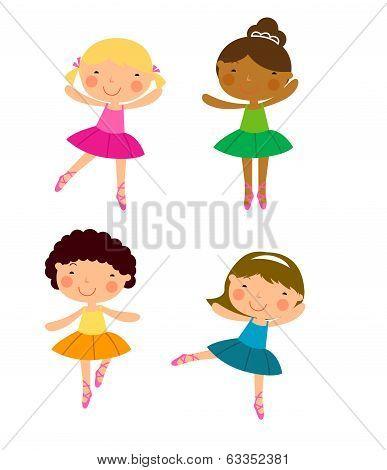 Four dancer