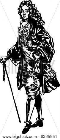 Aristocrat illustration