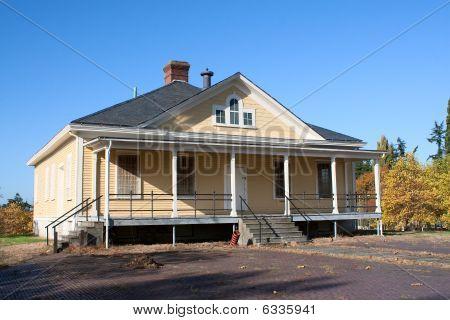 Fort Lawton ejército casa de protector de Base (abandonado)