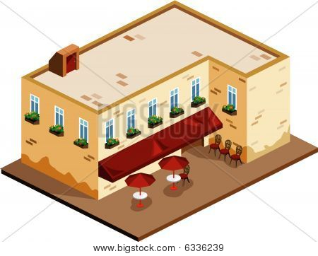 Cafe Isometric