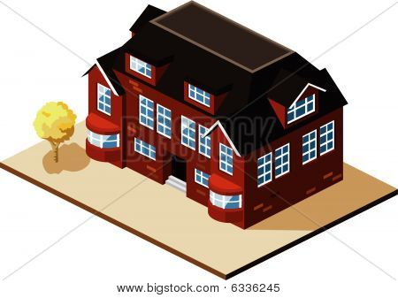 Mansion Isometric