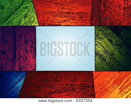 Wooden colored background