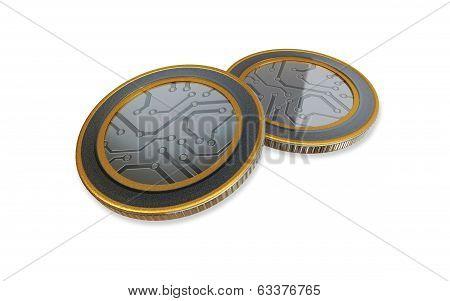 White Digital Max Coins