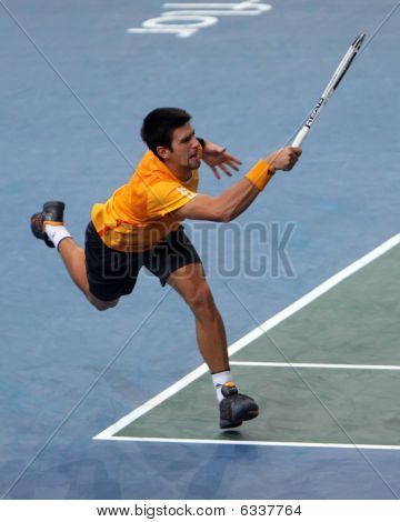 Novak Djokovic (srb) At Bnp Masters 2009
