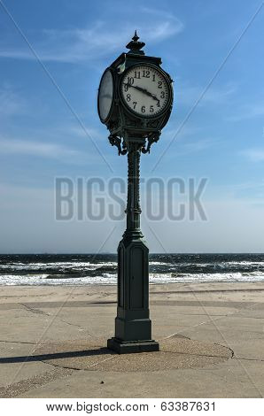 Antique Clock, Jacob Riis Park