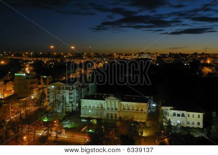 Pitesti Nightcityscape