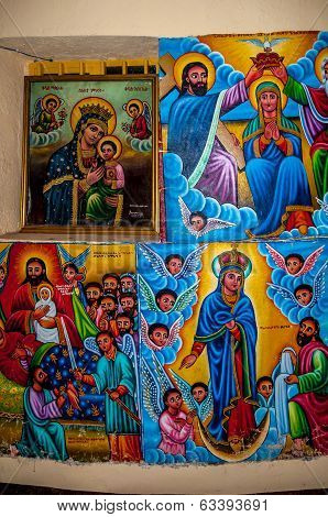 Painting In Kibran Gabriel Church