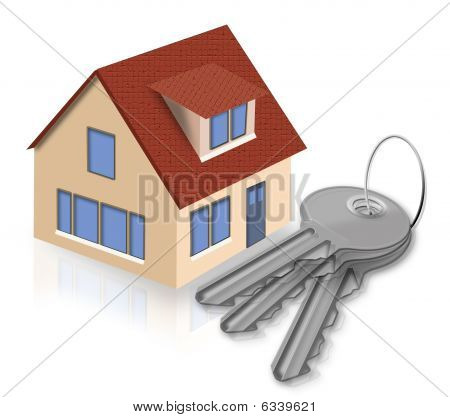 House And Keys From A House