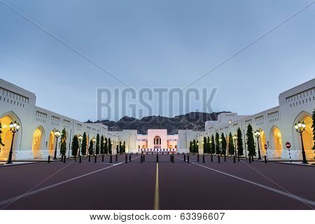 Place Sultan Qaboos Palace