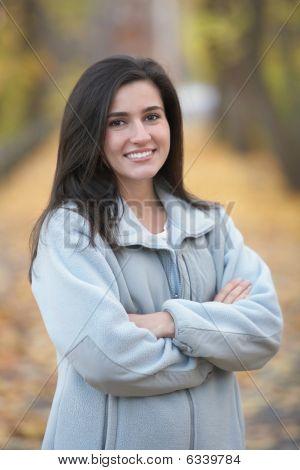 Mulher confiante